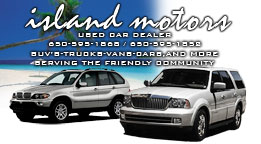 Island Motors Full Color Business Card and Graphic Design