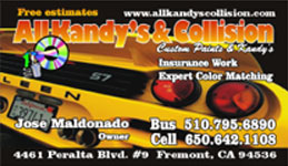 All Kandy's & Collision